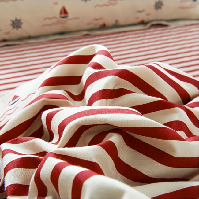 Home Textile American style stars & striped 4 pcs Cotton bedding sets bed sheet duvet cover