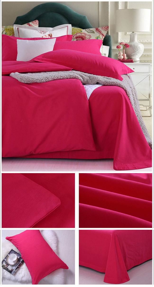 Wholesale Bedding Sets 2015 New Cotton Sanding Bed Sheet Duvet Cover Beddings Home Textile