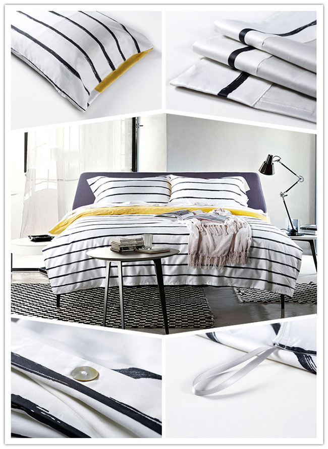 Wholesale 2015 New stripe Printed Bedding Sets Bed Sheet Duvet Cover Beddings Home Textile