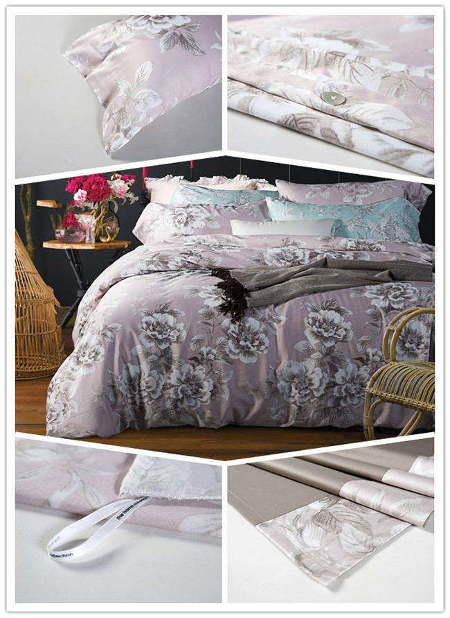 Wholesale 2015 New Big Flower Printed Bedding Sets Bed Sheet Duvet Cover Beddings Home Textile