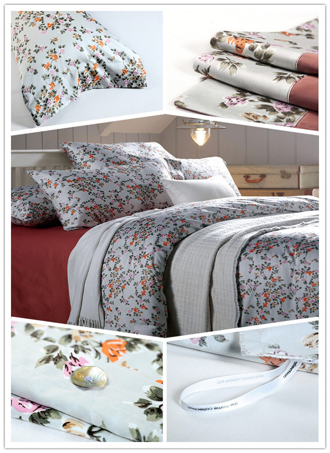 Wholesale Bedding Sets New Chinese Classics Pinted Shivering Bed Sheet Duvet Cover Home Textile