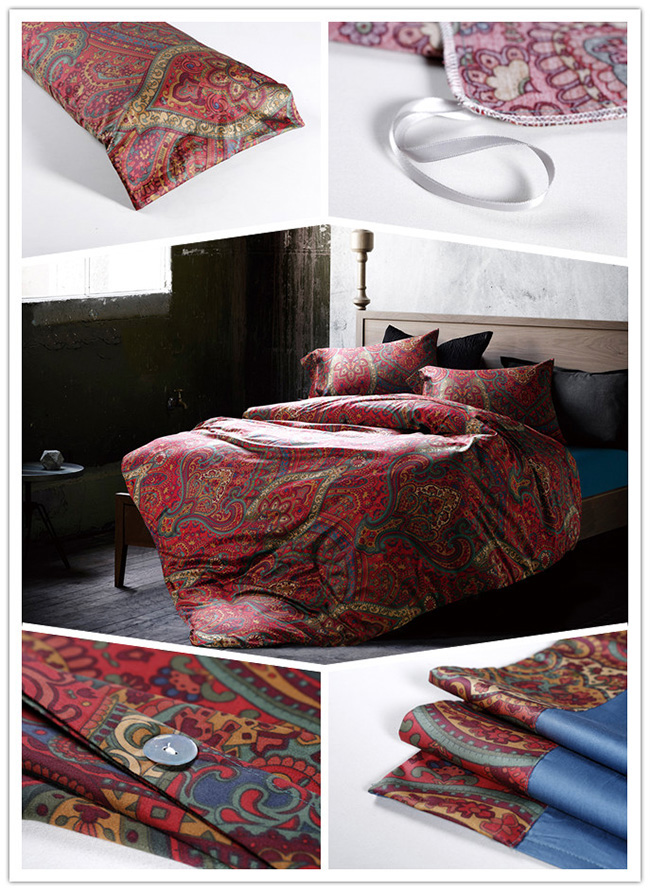 Wholesale Beddings Sets Printed Bed Sheet Duvet Cover Home Textile