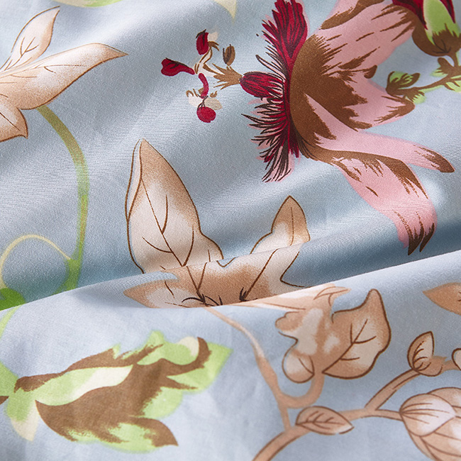 Wholesale 2015 Fashion Beddings Sets Printed Leaf Bed Sheet Duvet Cover Home Textile BE127