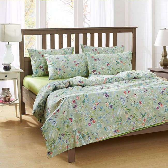 Wholesale 2015 New Printed Flowers Bedding Sets Bed Sheet Duvet Cover Beddings Home Textile BE140
