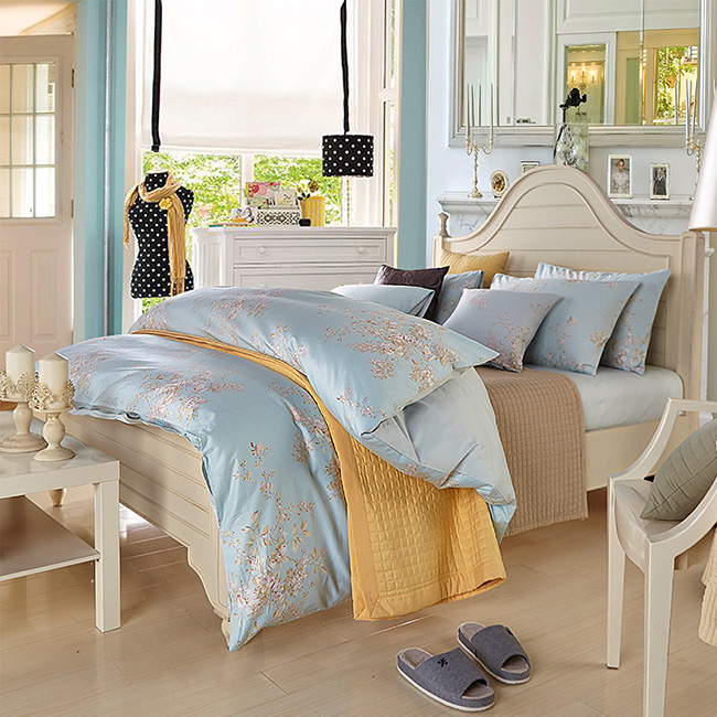 2015 New Cotton Bedding Sets Bed Sheet Duvet Cover Beddings Home Textile Free Express Ship BE148