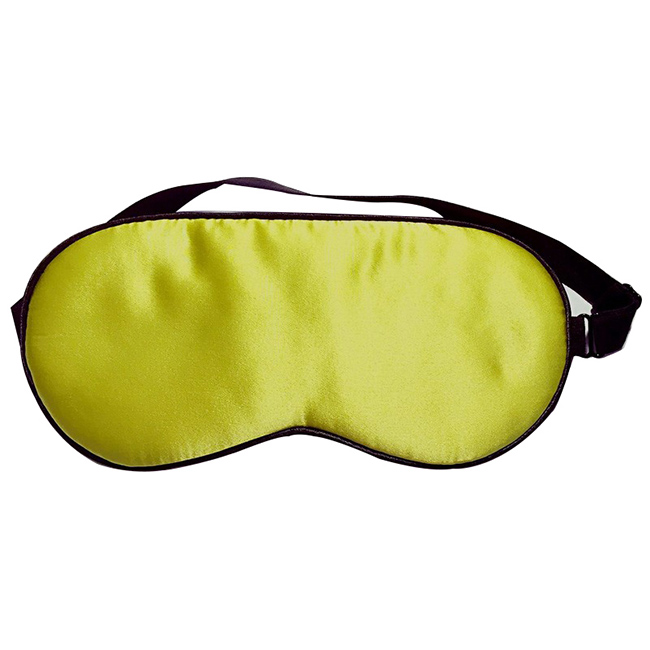 Natural silk sleep mask & blindfold, super-smooth eye mask